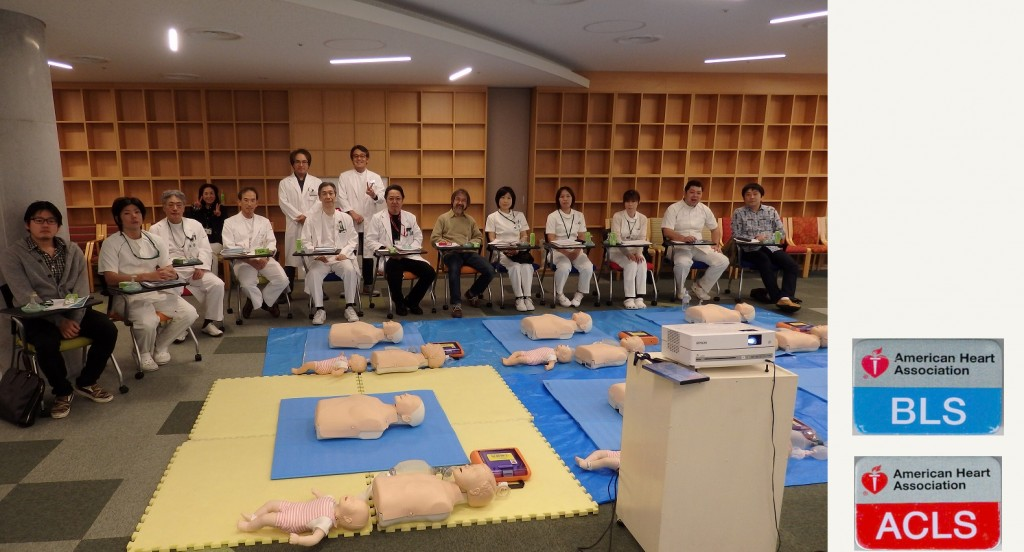 巽病院にて BLS / ACLS 院内講習会 を実施しました。